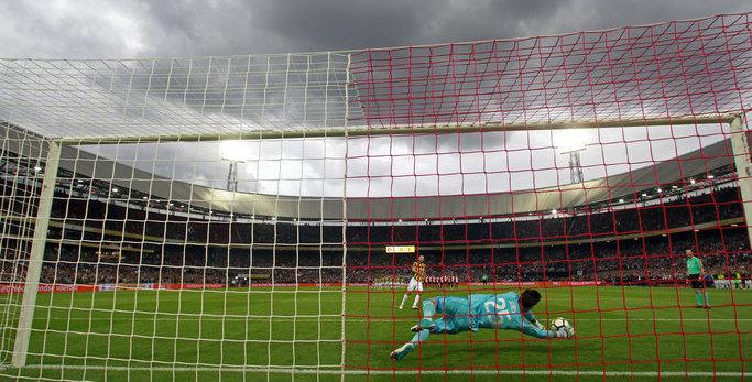 In beeld: Feyenoord wint Johan Cruijff Schaal in De Kuip