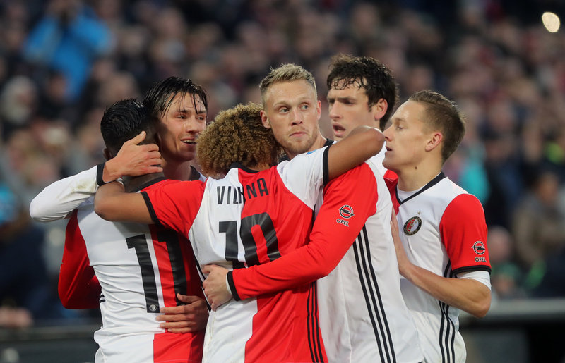 Rampant Feyenoord too good for N.E.C.