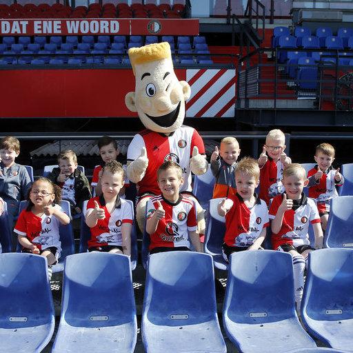 Feyenoord Voetjebal: Groepsfoto's