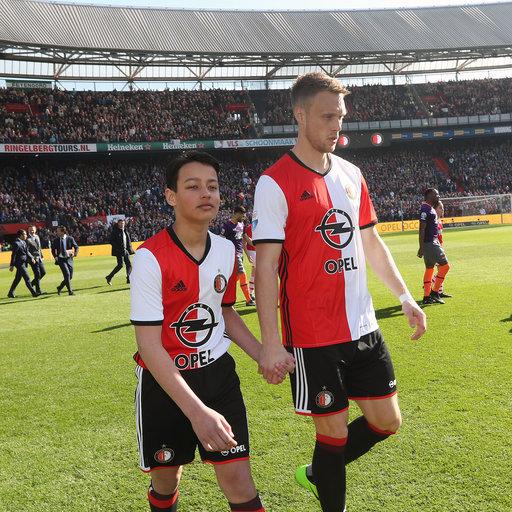 Wedstrijdmascottes Feyenoord - AZ