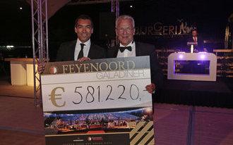 Zomerse sferen en recordopbrengst bij Feyenoord Charity Gala