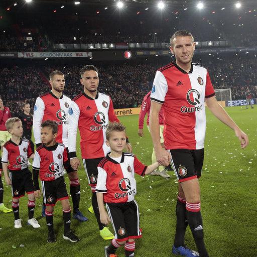 Wedstrijdmascottes Feyenoord – FC Utrecht