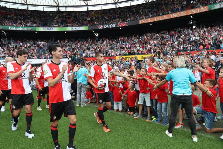 In beeld: fantastische Feyenoord-dag voor jong en oud