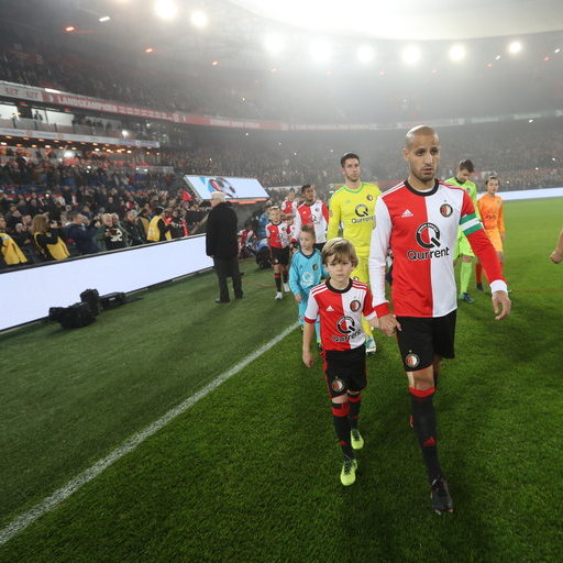 Feyenoord - Heracles Almelo (KNVB Beker) Wedstrijdmascottes