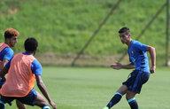 Talent op trainingskamp: Mo El Hankouri