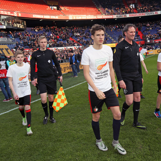 Benefietwedstrijd Feyenoord – ADO Den Haag Mascottes