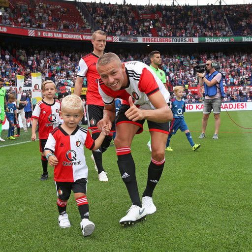 Feyenoord - Levante UD wedstrijdmascottes