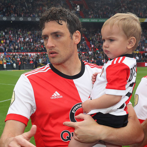 Wedstrijdmascottes Feyenoord - Real Sociedad