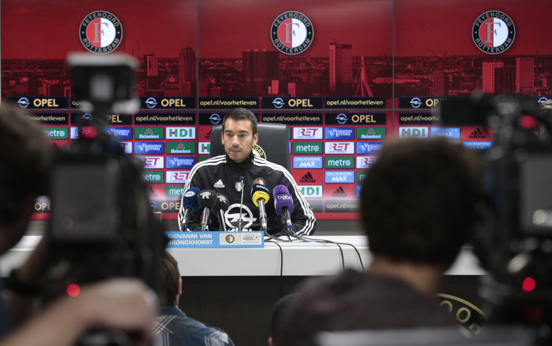 Van Bronckhorst points up the importance of a positive crowd