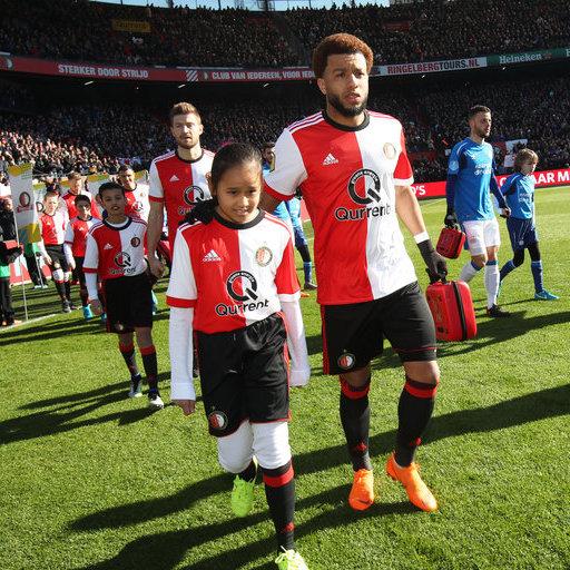 Feyenoord - PSV Wedstrijdmascottes