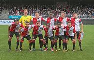 Feyenoord Onder 19 recht rug na midweeks verlies