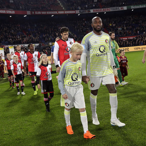 Wedstrijdmascottes Feyenoord – ADO Den Haag