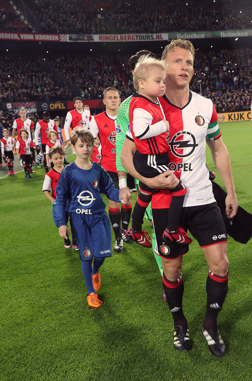 Wedstrijdmascottes Feyenoord - PEC Zwolle