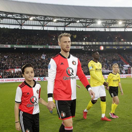 Wedstrijdmascottes Feyenoord – VVV Venlo