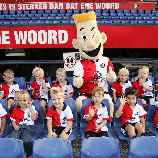 Feyenoord Voetjebal: Teamfoto's