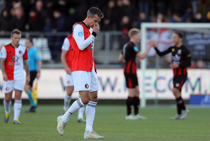 Feyenoord beaten in derby