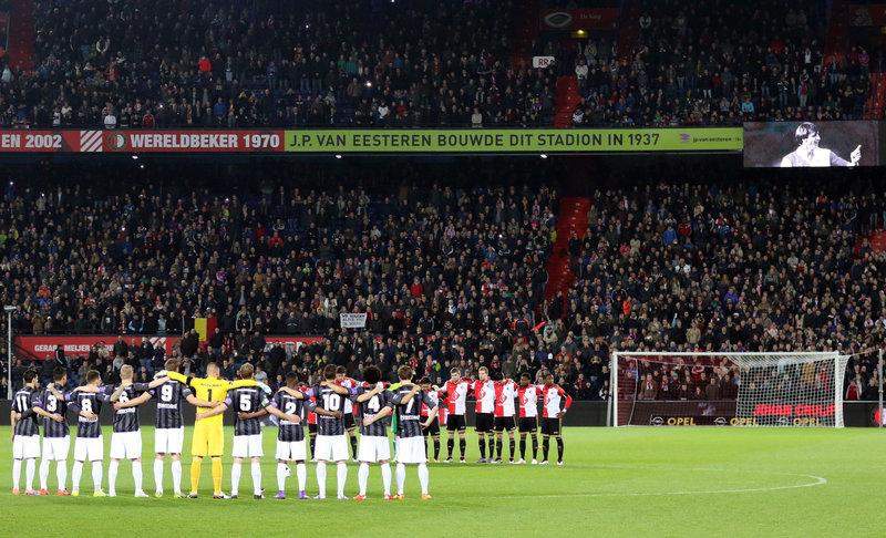 Feyenoord verslaat Sparta op bijzondere voetbalavond