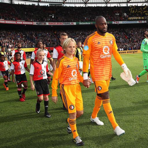 Feyenoord – Vitesse wedstrijdmascottes