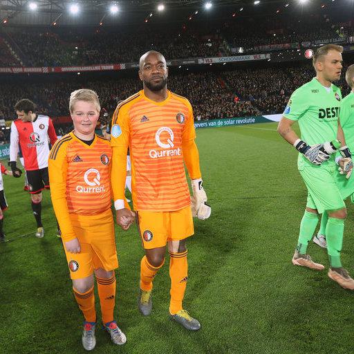 Wedstrijdmascottes Feyenoord – Willem II