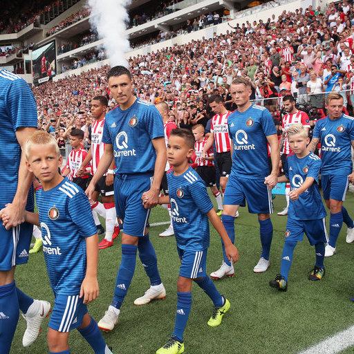 PSV - Feyenoord wedstrijdmascottes