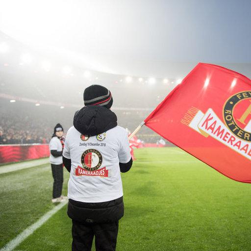 Vlaggenzwaaiers Feyenoord – Fortuna Sittard